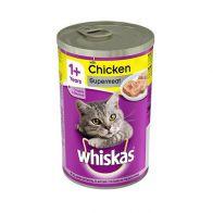 whiskas can chicken 400gr