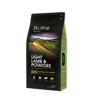 profine light lamb & potatoes 15kg