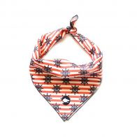 "the ""nautical"" dog bandana"
