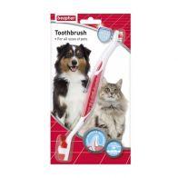 οδοντόβουρτσα για σκύλο και γάτα