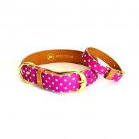 "argus collar - the ""pinky dot"" collar"