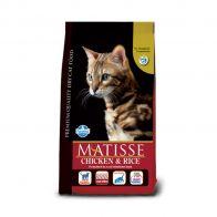 matisse cat chicken and rice 10kg
