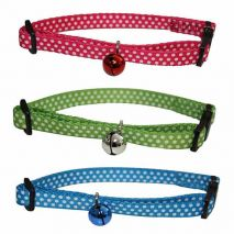 hp out and about dotty cat collar epets