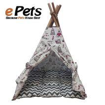 ινδιάνικη σκηνή για σκύλους&γάτες small epets