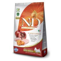 nd grain free pumpkin chicken adult mini