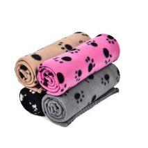 Κουβέρτα Σκύλων fleece paw print pet shop