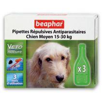 beaphar biocton spot on dog 15-30kg