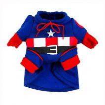 ρούχα σκύλων captain america