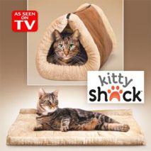 kitty shak cat bed κρεβατάκι τούνελ για γάτες epets