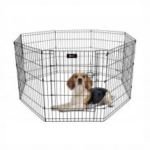 rac metal safety dog park 61x61cm