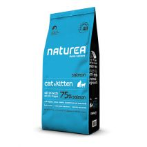 naturea cat & kitten salmon 7kg