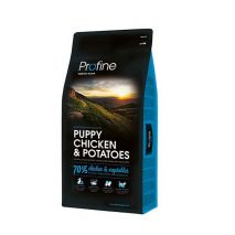 profine puppy chicken & potatoes 15kg