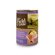 sams field salmon chicken potato