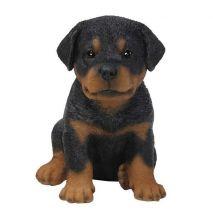 Άγαλμα Σκύλου Rottweiler Puppy Sitting