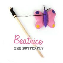 Beco Cat Wand Butterfly