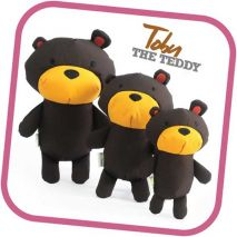Beco Tobby The Teddy Cuddly Soft Toy