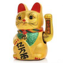 Maneki Neko cat τυχερή γάτα