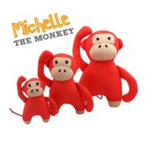 Beco MichelThe Monkey Cuddly Soft Toy