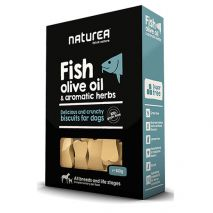 naturea biscuits fish & olive oil