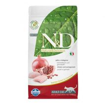 n&d cat grain free adult chicken 1.5kg epets