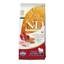 n&d low grain chicken & pomegranate adult maxi 12kg