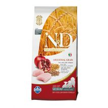 n&d low grain chicken & pomegranate puppy 12kg
