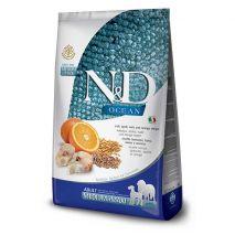 n&d low grain codfish & orange adult medium 12kg