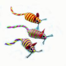 nobby μικρά σχοινένια ποντίκια γάτας epets