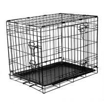 rac συρμάτινο κλουβί σκύλου 91x61x68cm