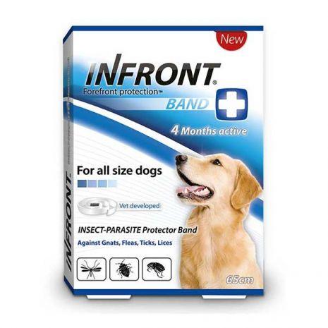 INFRONT - Aντιπαρασιτικό κολλάρο για σκύλους