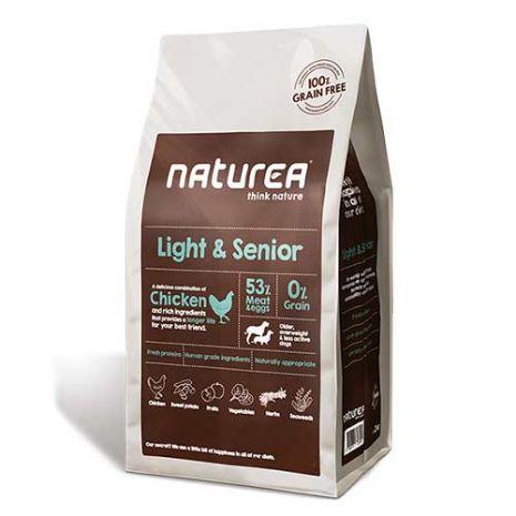 naturea light and senior 12kg epets