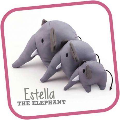 Beco Estrella the Elephant Cuddly Soft Toy