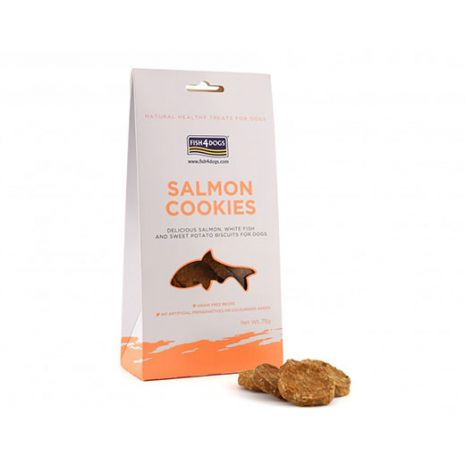 Fish 4 Dogs Fine Dining Salmon Cookies