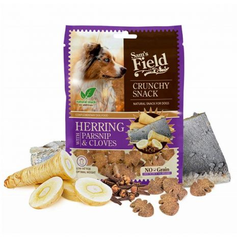 Sam's Field Crunchy Snack Herring with Parsnip & Cloves