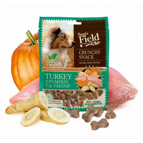 Sam's Field Crunchy Snack Turkey with Pumpkin & Parsnip