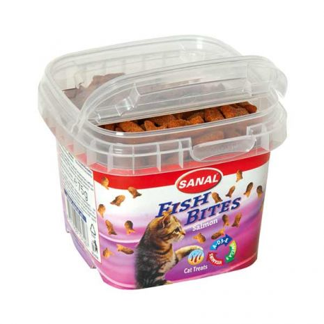 sanal λιχουδιά γάτας με σολομό epets