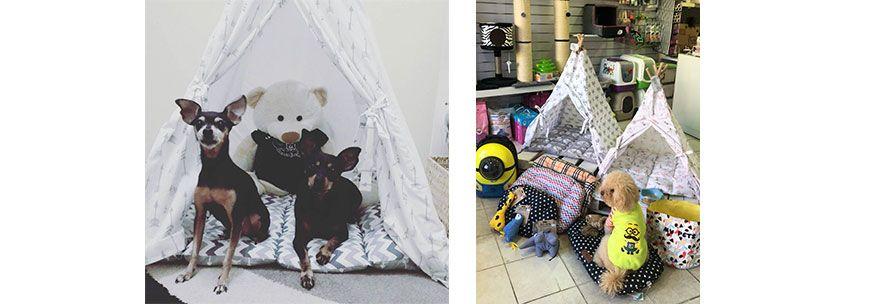 Σκηνές για σκύλους και γάτες